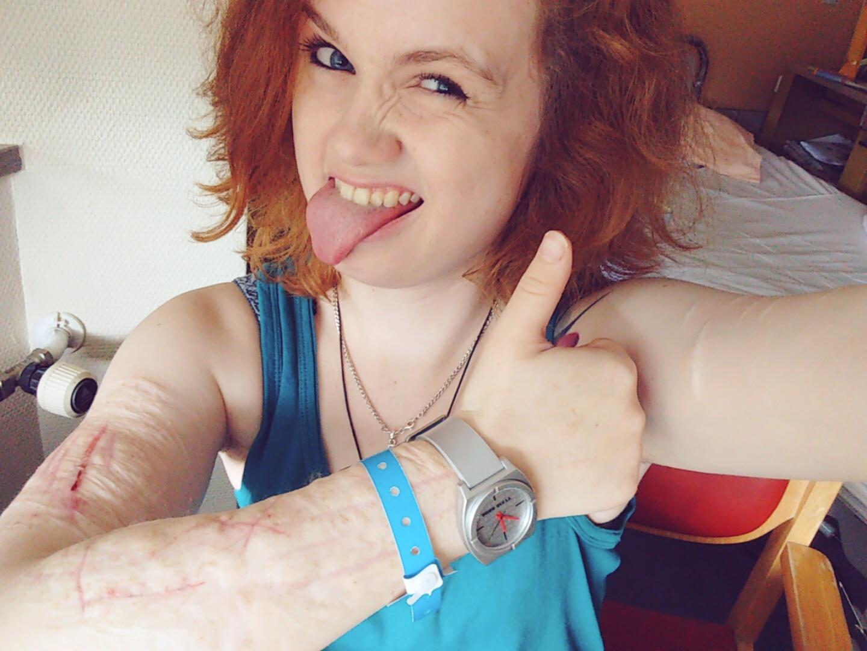 Vanessa, Klinik, Borderline, Selbstverletzung, Esstörung